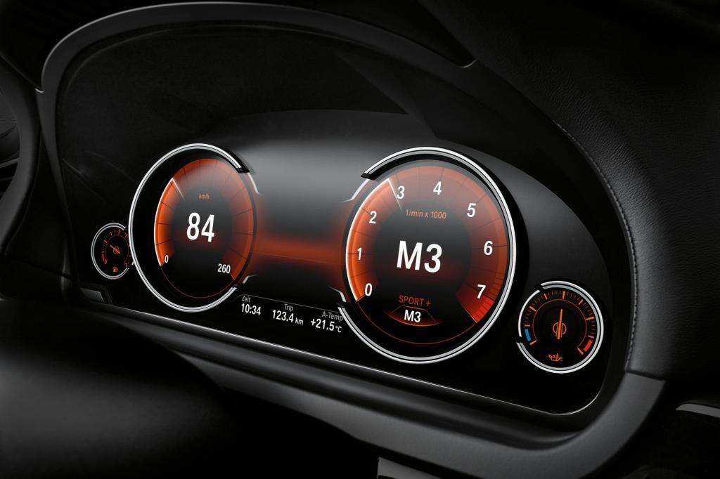 7er BMW mit neuer Instrumententechnik - Freie Wahl