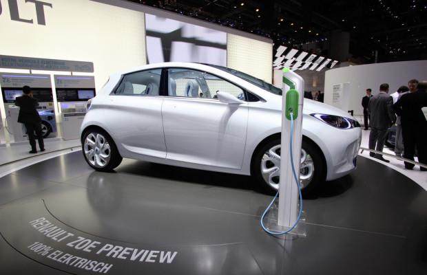 AMI 2012: Deutschland-Premiere für den Renault Zoe