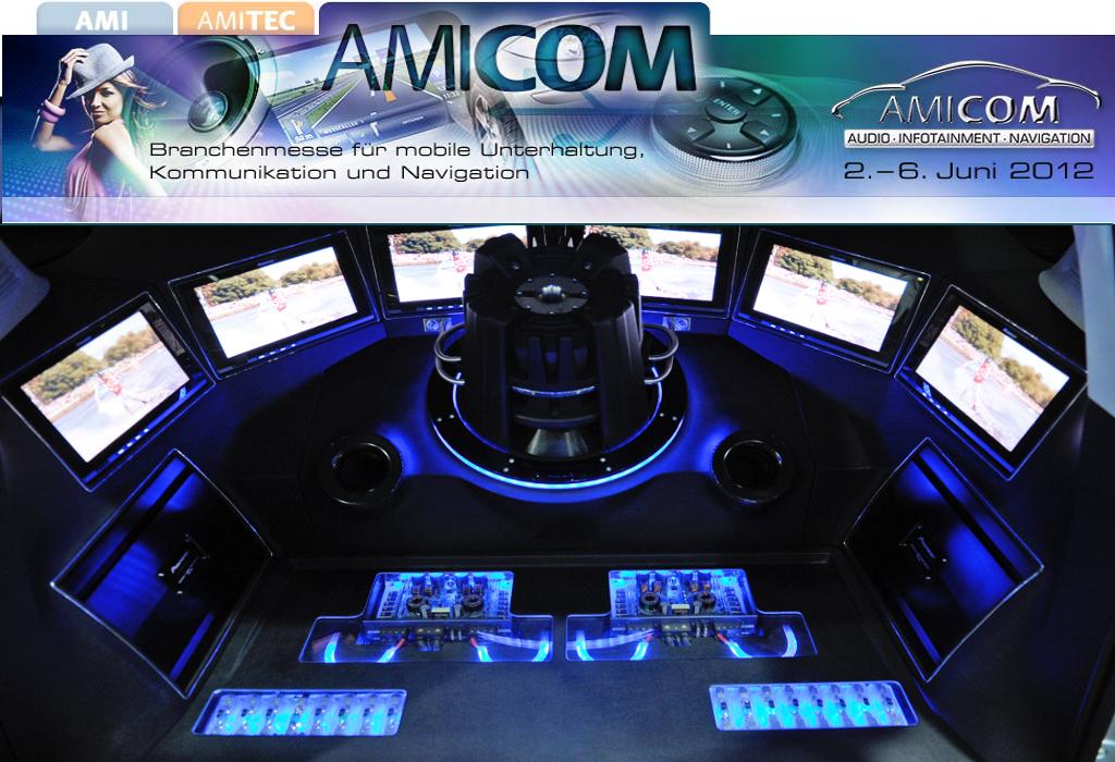 AMICOM 2012: Position als europäische Leitmesse weiter ausgebaut