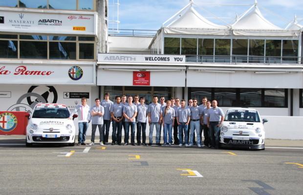 Abarth hat 24 Rennfahrer-Talente ausgewählt