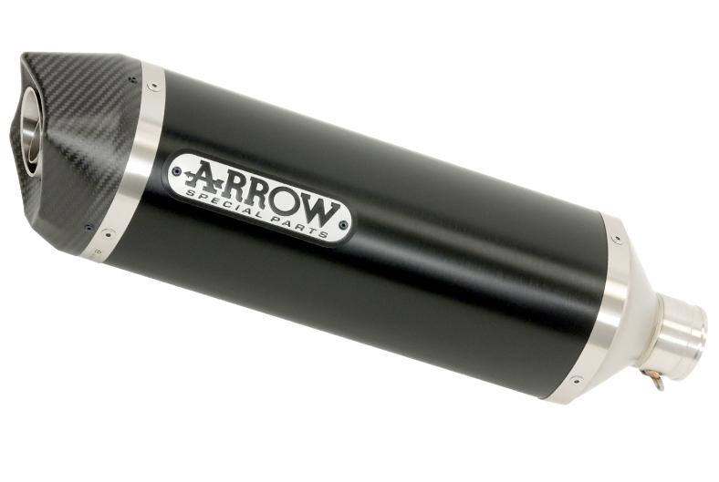 Arrow-Auspuffanlagen jetzt auch mit Carbon-Endkappen
