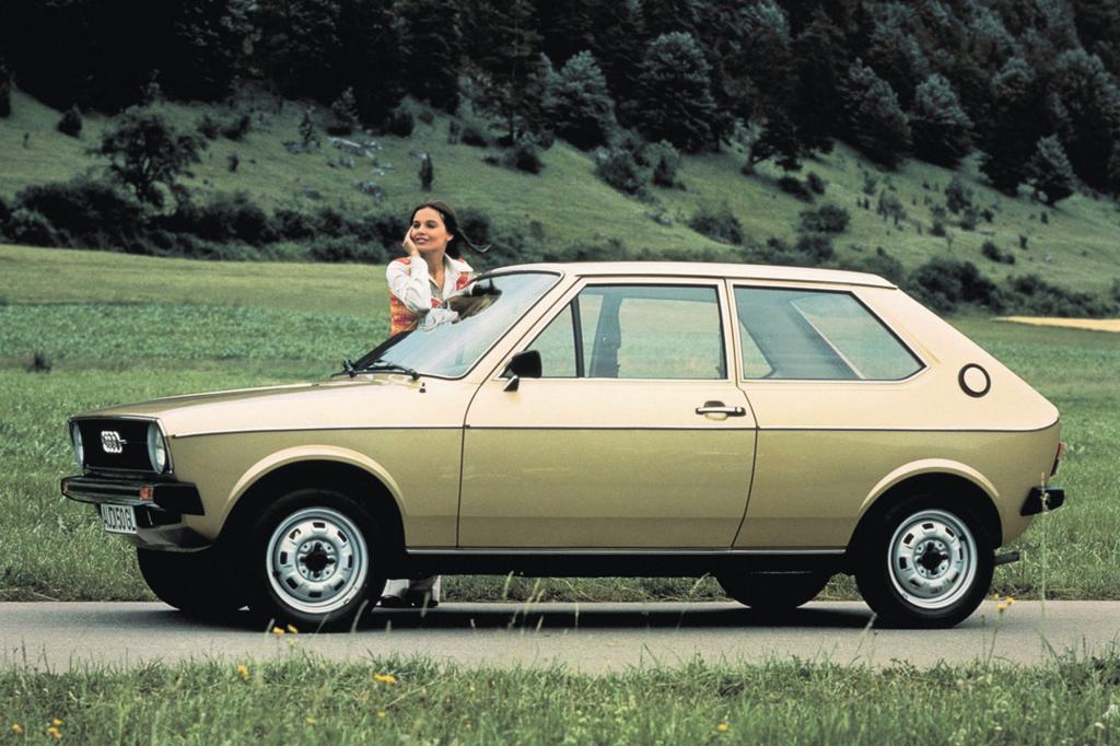 Audi 50 ab 1974
