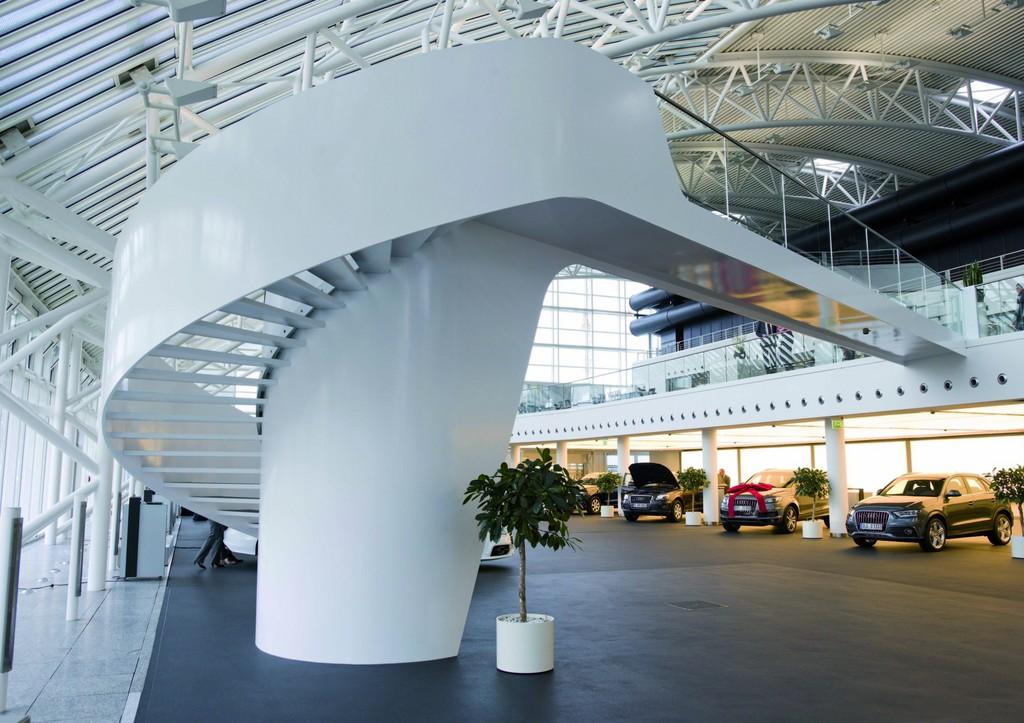 Audi-Forum Ingolstadt wird 20 Jahre