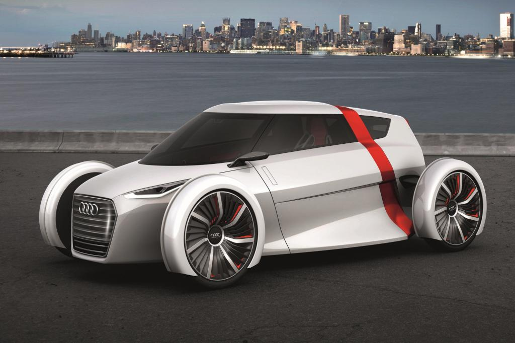 Audi hat auf der IAA das Urban Concept vorgestellt