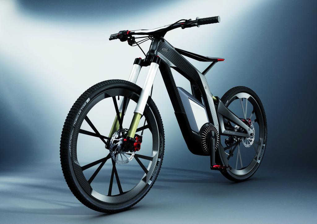 Audis E-Bike sieht futuristisch aus