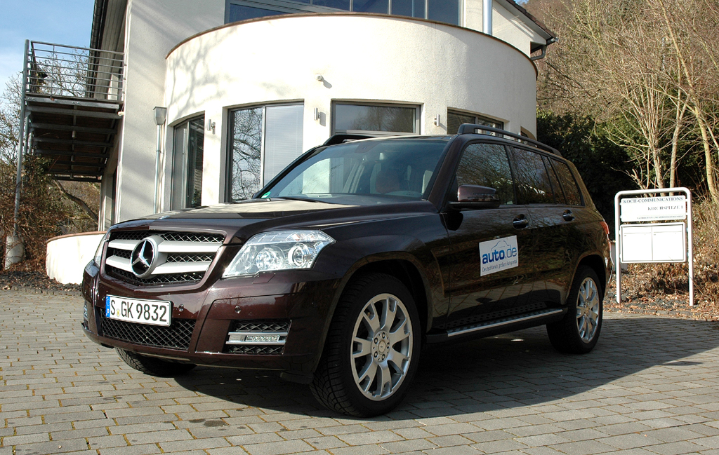 Auto im Alltag: Mercedes GLK-Klasse