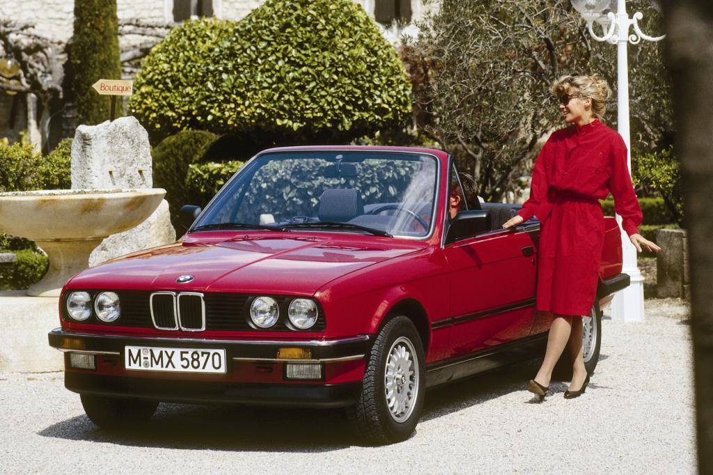BMW 325i Cabrio 1986
