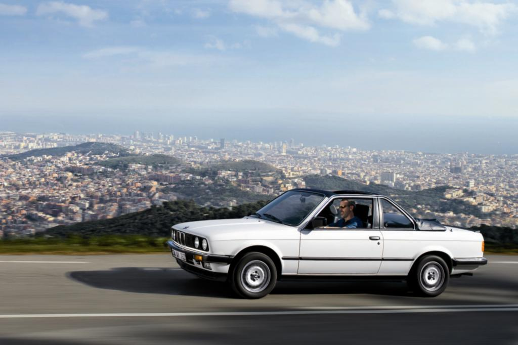 BMW 3er Baur Topcabriolet ab 1983