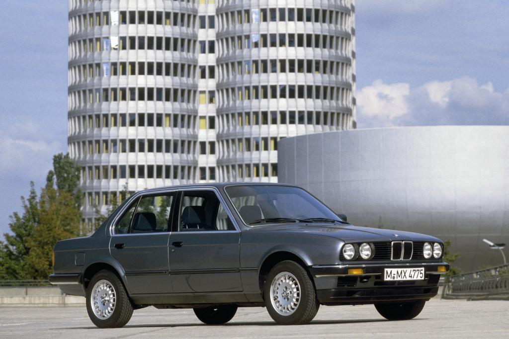 BMW 3er viertürig ab 1983