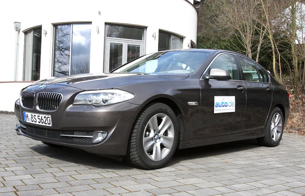 BMW 5er, hier als EfficientDynamcis-Basisdiesel 520d. Fotos: Koch