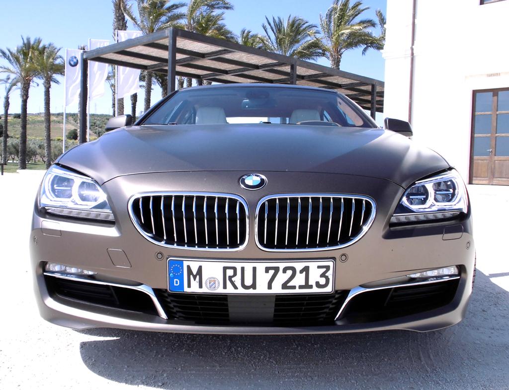 BMW 6er Gran Coupé: Blick auf die Frontpartie, hier beim 640d.