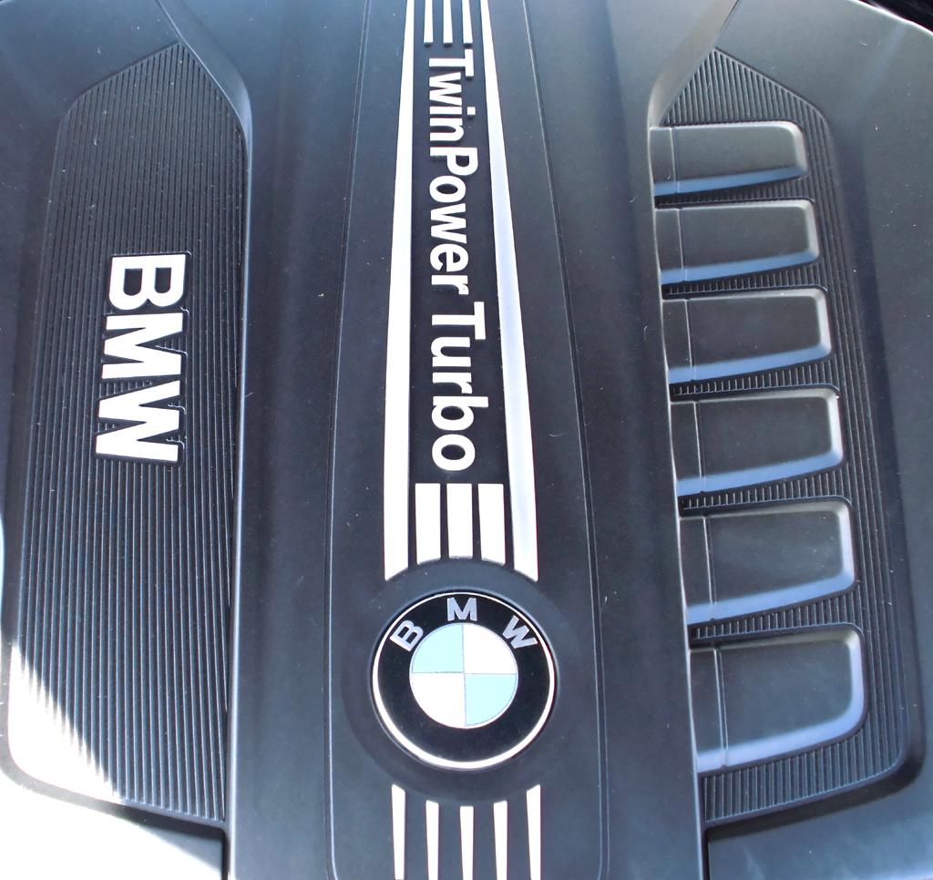 BMW 6er Gran Coupé: Blick unter die Haube, hier auf den Sechszylinder-Turbodiesel.