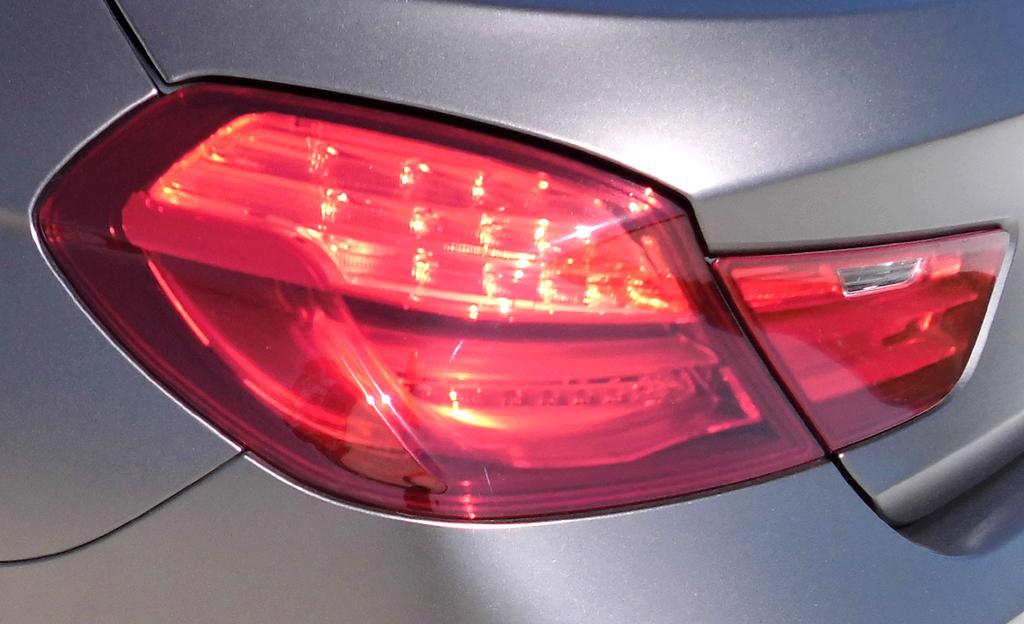 BMW 6er Gran Coupé: Moderne Leuchteinheit hinten.