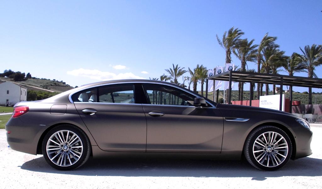 BMW 6er Gran Coupé: Und so sieht der Viertürer von der Seite aus.