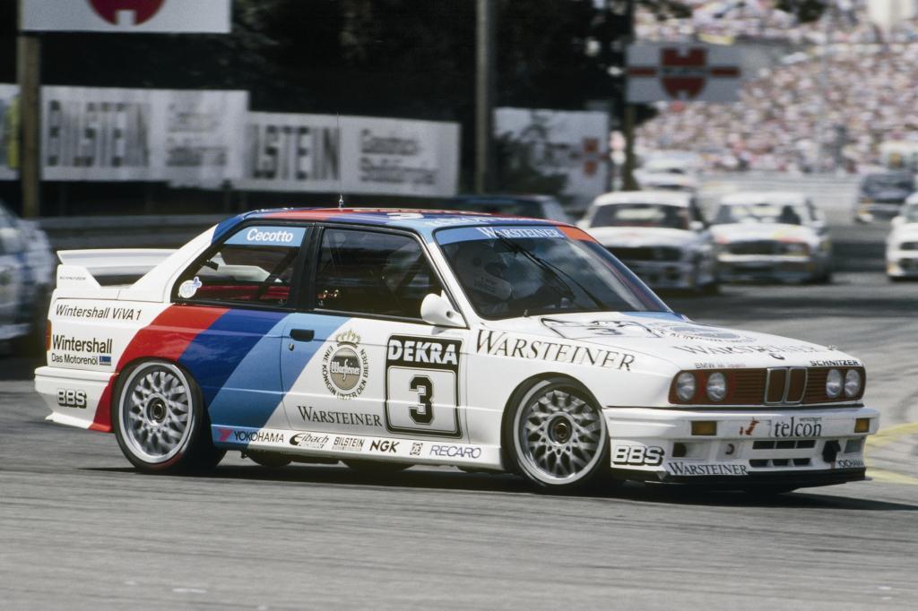 BMW M3 mit Cecotto DTM 1990