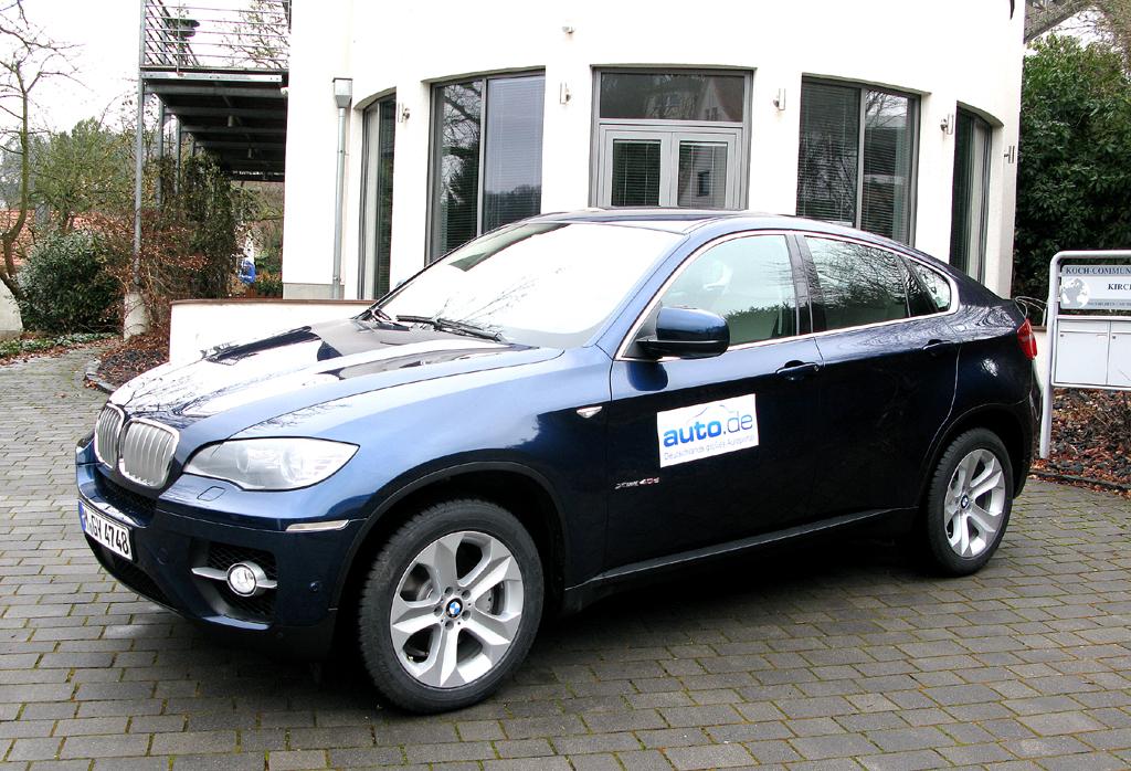BMW X6, hier als zweitstärkster Diesel mit 306 PS. Fotos: Koch