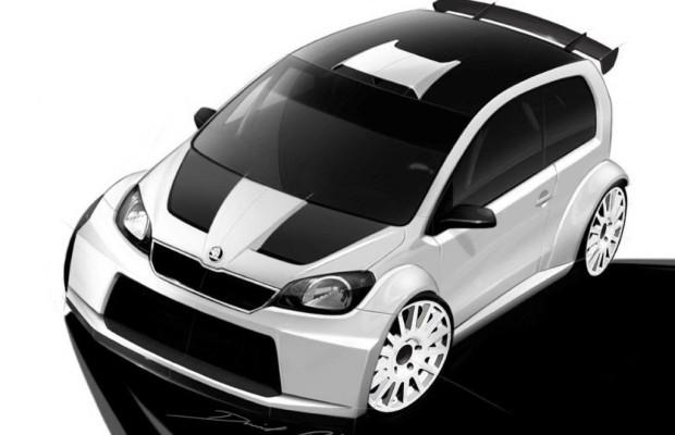 Bei VW-GTI-Treffen dabei: Zwei Citigo-Studien von Skoda