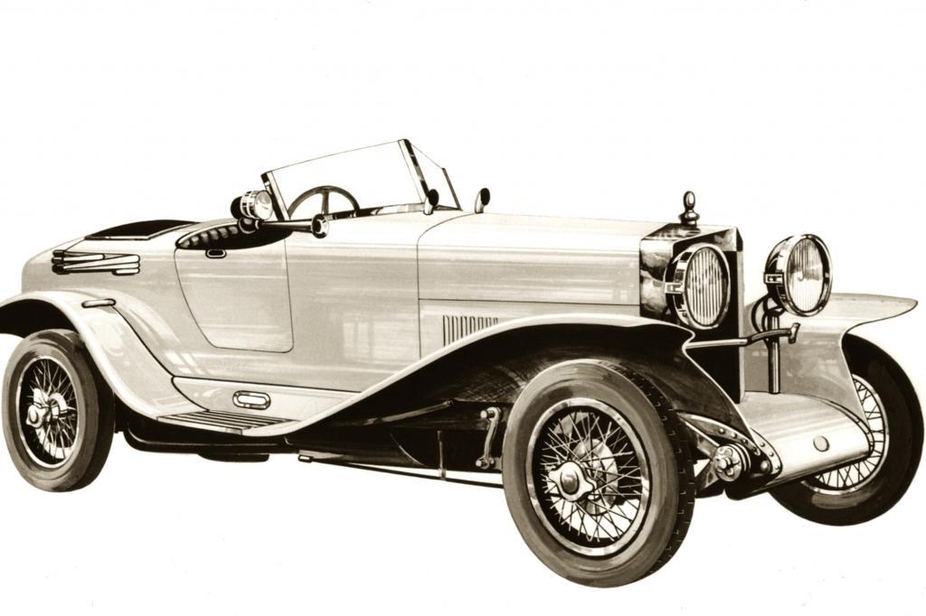 Bertone Spa 23S Jahr 1921