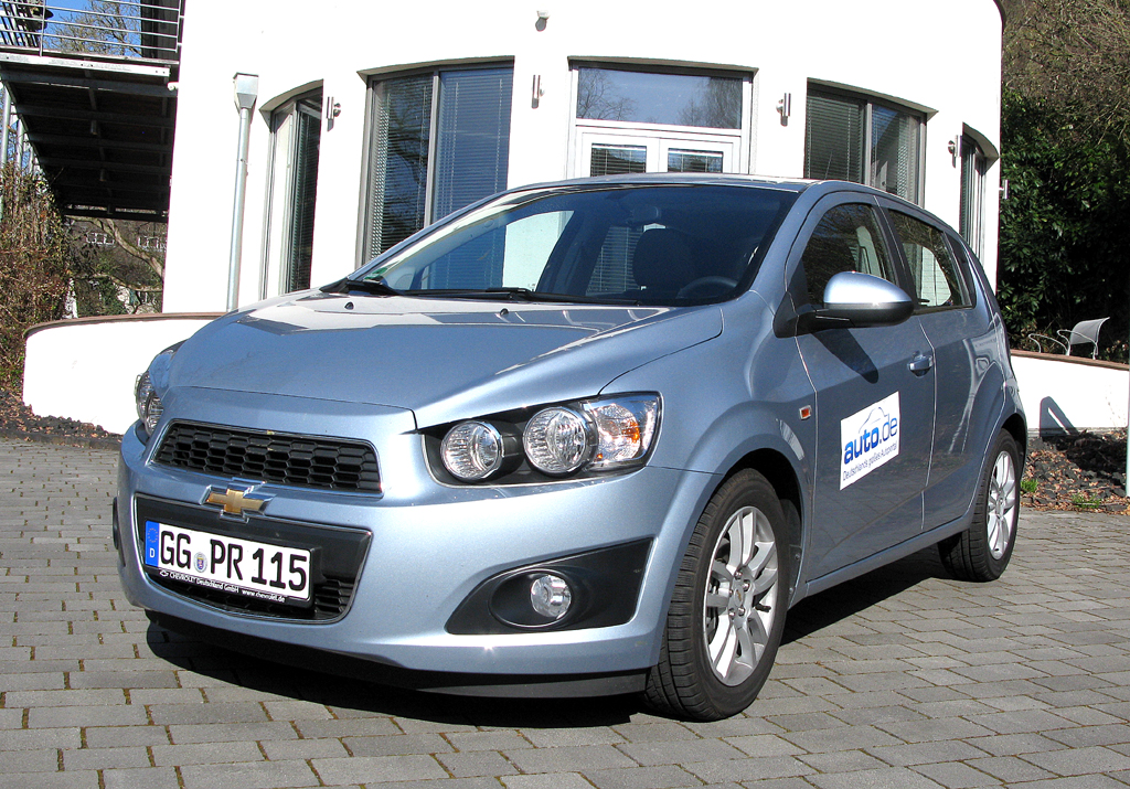 Chevrolet Aveo, hier als Fließheck-Diesel mit 70/90 kW/PS.