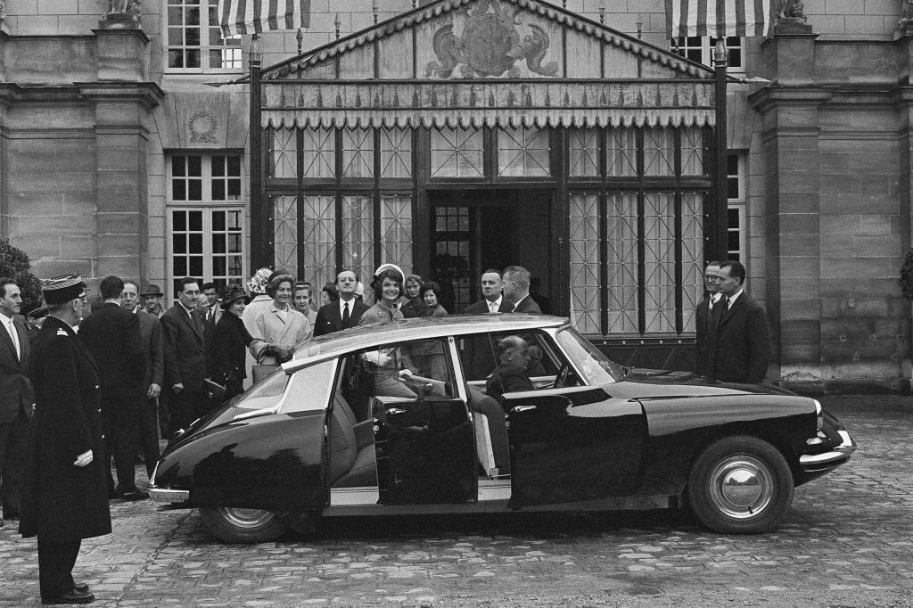 Citroen DS mit Jacqueline Kennedy 1961
