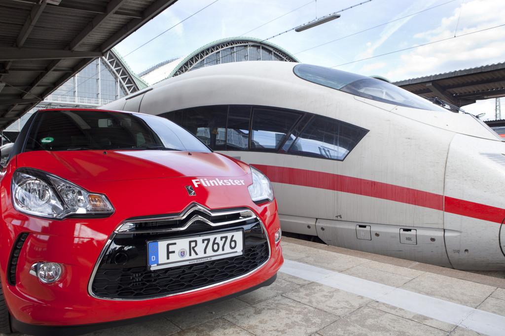 Citroen DS3 verstärkt Flinkster-Flotte der Bahn