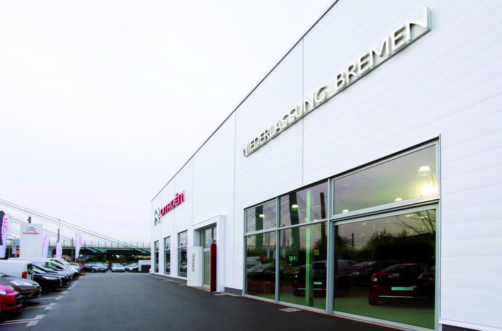 Citroen-Niederlassung Bremen ist umgezogen