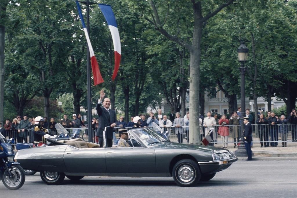 Citroen SM Presidentielle mit Jacques Chirac 1995