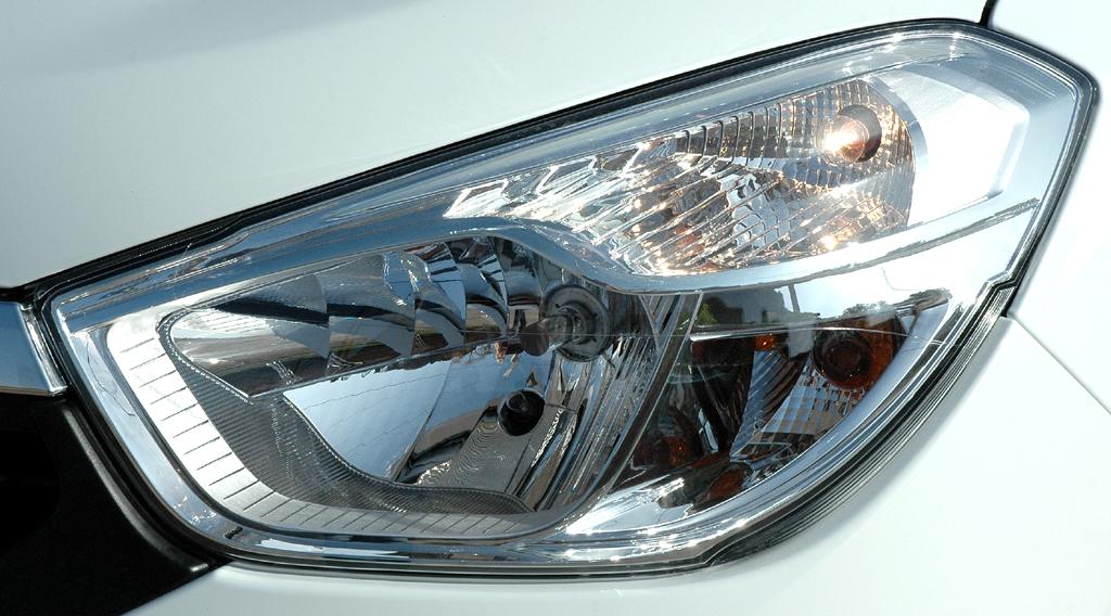 Dacia Lodgy: Moderne Leuchteinheit vorn.
