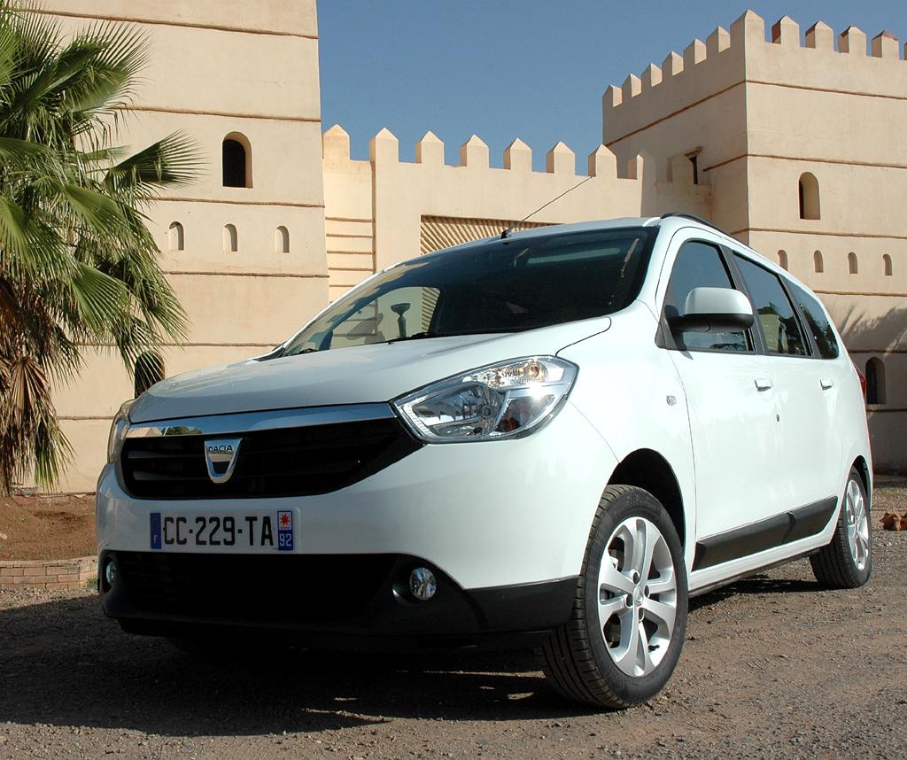 Dacia Lodgy: Wie alle Dacia vorher ein ehrliches Auto.