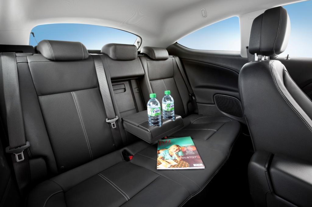 Das Auto ist insgesamt leise und komfortabel genug auch für eine längere Reise