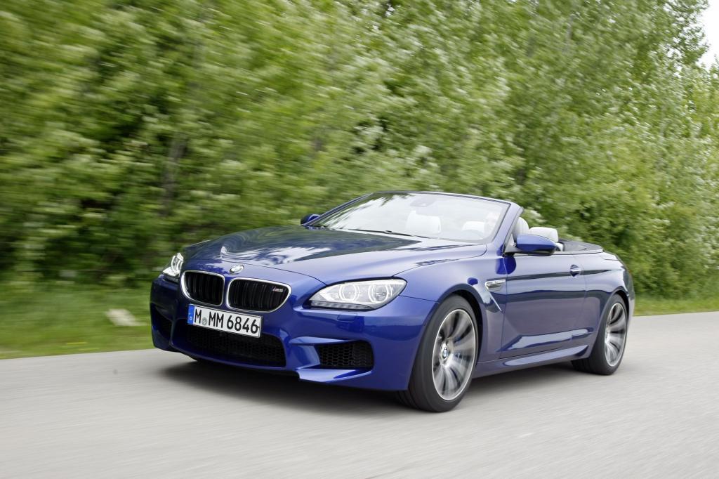 Das Cabrio macht den Start bei der Neuauflage des BMW M6