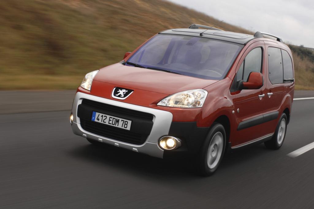 Den Peugeot Partner gibt es auch im Offroad-Kleid