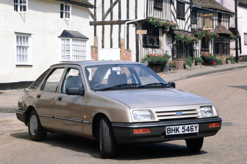 Der Ford Sierra brach komplett mit dem Design seines Vorgängers