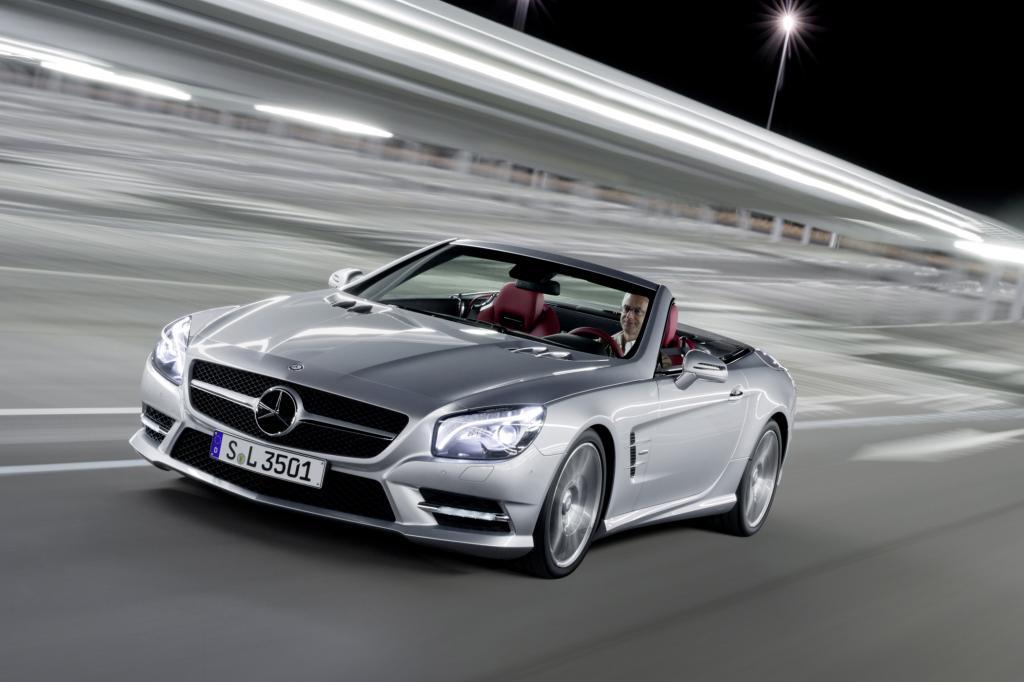 Der Mercedes SL ist der Cruiser unter den Sportwagen