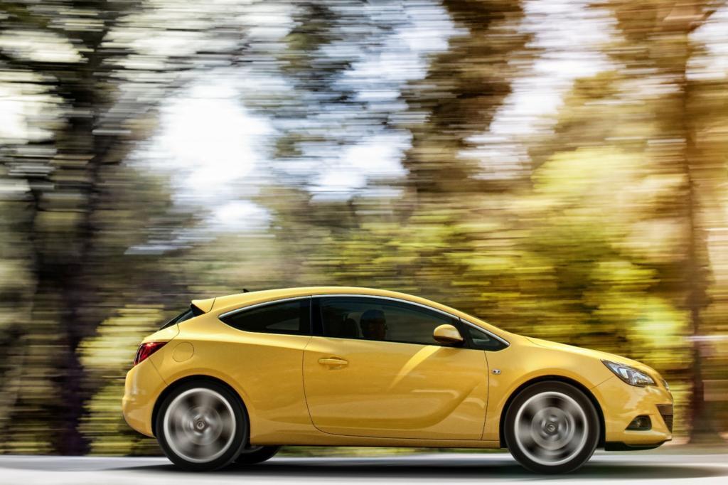 Der Opel Astra GTC ist ohne Zweifel ein Auto, das auffällt