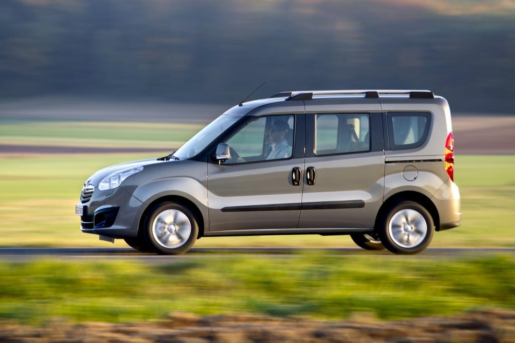Der Opel Combo basiet auf dem Fiat Doblo