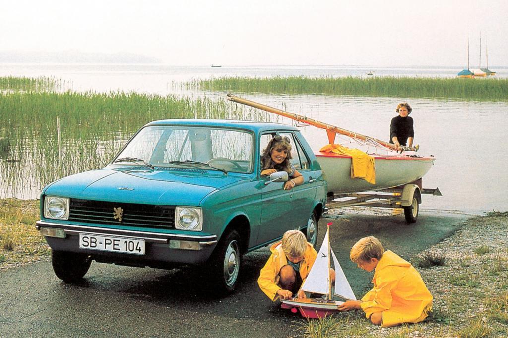 Der Peugeot 104 ist klein - aber familientauglich