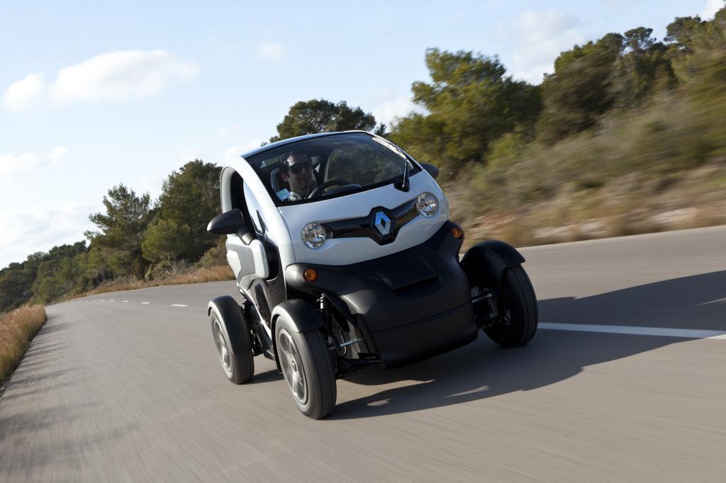 Der Renault Twizy macht vor allem in der Stadt Spaß