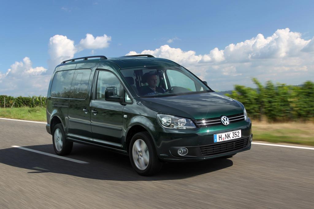 Der VW Caddy ist der Bestseller unter den Hochdach-Kombis