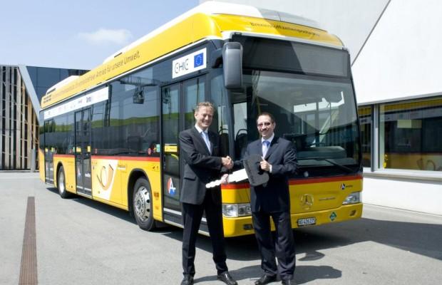 Der erste Brennstoffzellen-Bus für die Schweiz