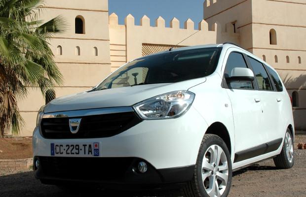 Ehrliche Haut mit viel Platz: Erster Dacia-Kompaktvan Lodgy ab Juni
