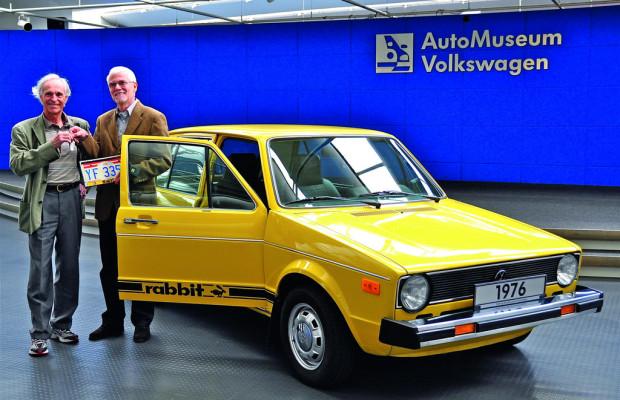 Ein Rabbit für das Volkswagen-Museum