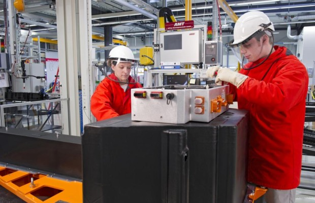 Elektromobilität - Audi baut Lithium-Ionen-Akkus in Ingolstadt