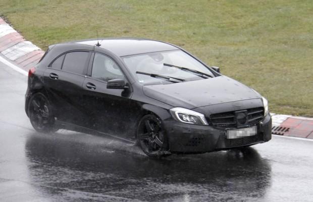 Erwischt: Erlkönig Mercedes-Benz A-Klasse AMG