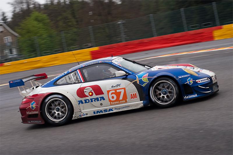 Europaauftakt Langstrecken Weltmeisterschaft 2012: Audi erfolgreich mit Diesel-Hybridfahrzeug