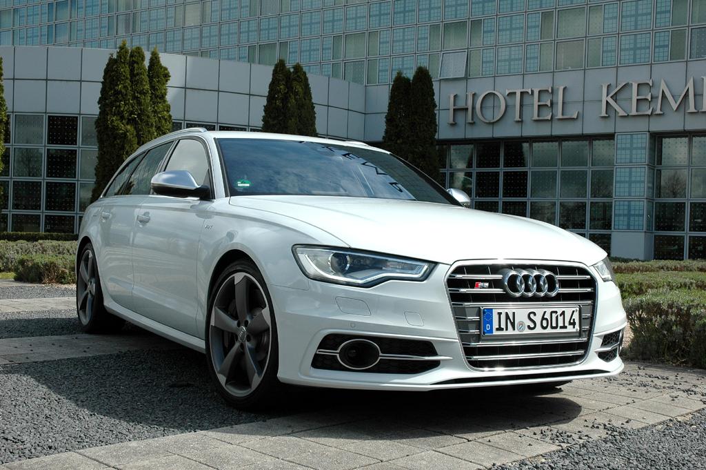 Für den deutschen Markt wichtig: Audi S6 Avant.