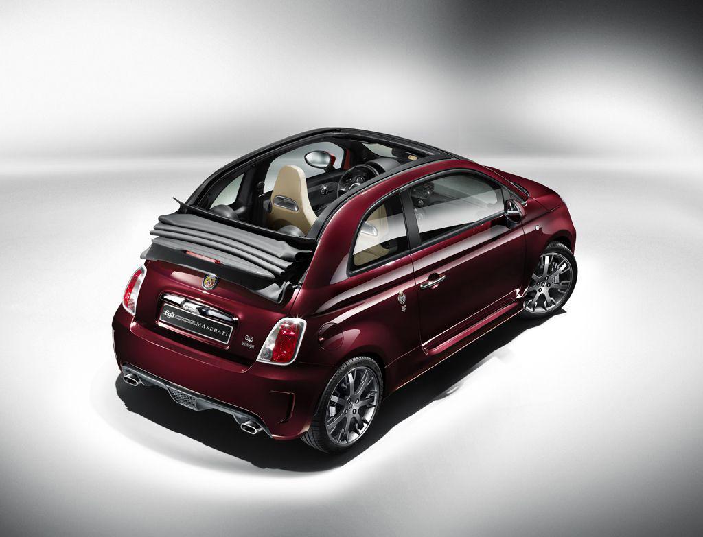 Fiat 500 Cabrio Sondermodell von Abarth