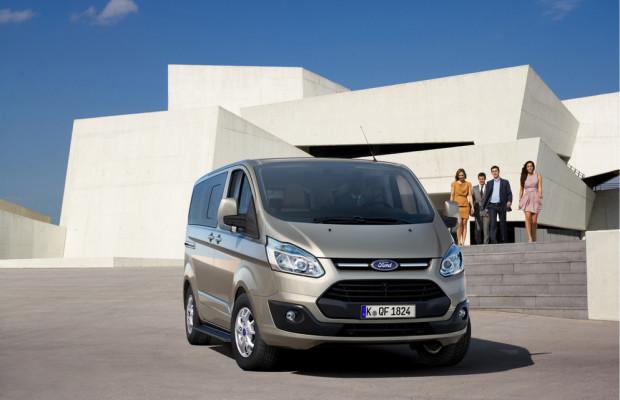 Ford schlägt 550 000-mal die Türen des Tourneo Custom zu