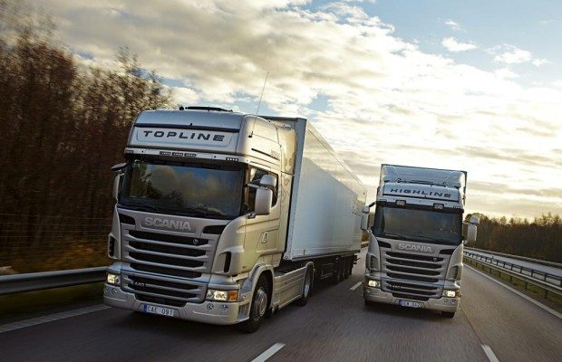 Güterverkehr - Lkw immer sauberer