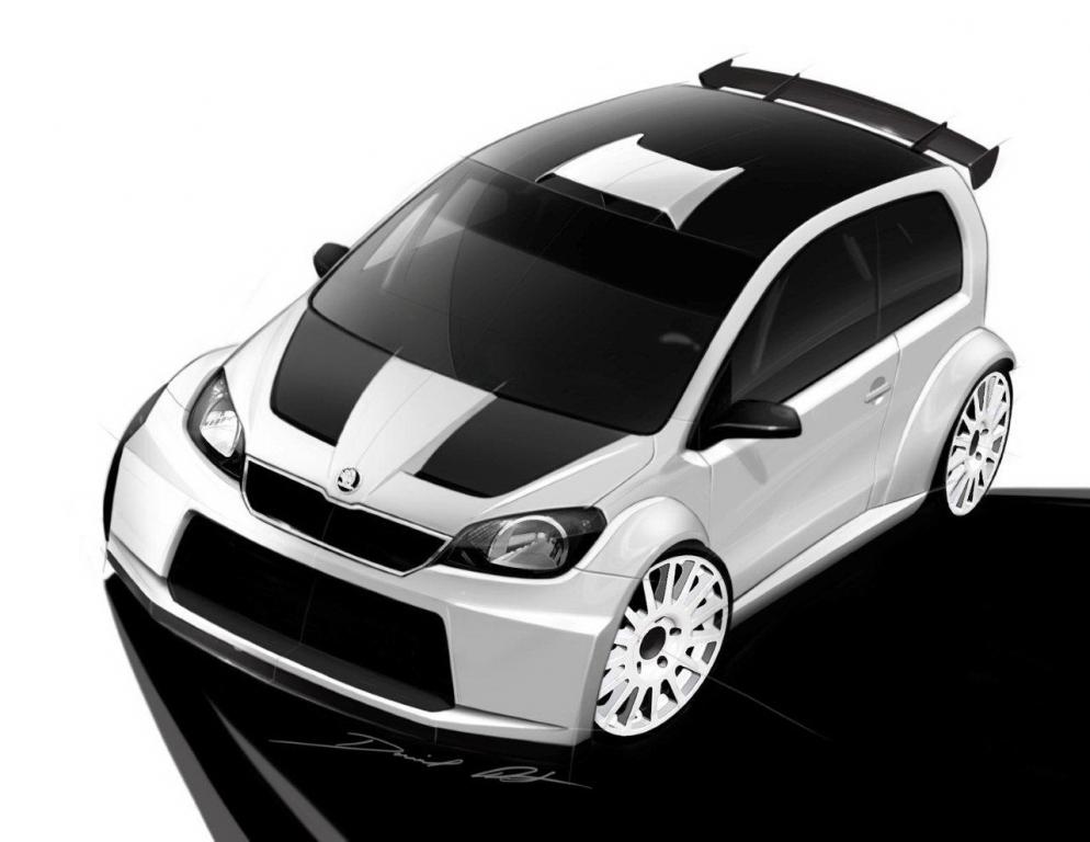 GTI-Treffen 2012: Skoda zeigt Citigo Rallye und DJ Car